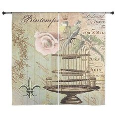 CafePress - Vintage French Shabby Chic Birdcage Curtains ... https://www.amazon.com/dp/B01IOGT3YA/ref=cm_sw_r_pi_dp_x_UkMbyb5PQCNYQ