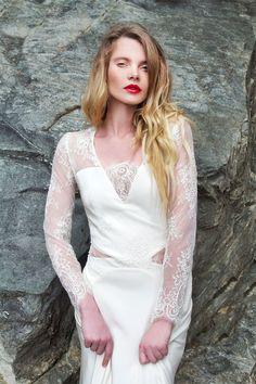 Robes de mariée - Caroline TAKVORIAN - Collection 2017 | Modèle: Juliette…  #mariage #wedding #CarolineTakvorian #lyon #Rhône #AuvergneRhôneAlpes #mariée #bride #robesdemariée #weddingDresses