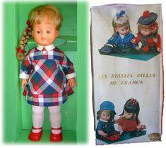 Série Les petites filles de france de l'entreprise Gégé