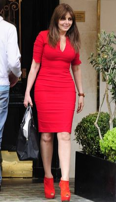 I hope my figure is as fabulous as Carol Vorderman's when I'm 52-years-old. SERIOUSLY, wow. *_*