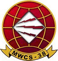 "Marine Wing Communications Squadron 38, Miramar Marine Corps Base, ""Red Lightning"""