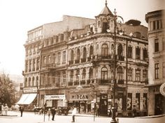 Once Upon A Time in Bucharest: Hotel Splendid Interwar Period, Bucharest Romania, Modernism, Once Upon A Time, Time Travel, Hotels, Street View, Park, Modern Architecture