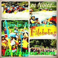Los niños desde los 6 años viven la aventura en #Filobobos #Veracruz http://www.filobobos.com
