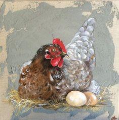Artiste Peintre animalier des animaux de la ferme, poules, coqs, ânes,veaux, vaches, poussins, moutons, chèvres, pintades,oies, toute une basse cour s'anime sous les pinceaux d'Odile Laresche. Artiste Peintre de nos campagnes