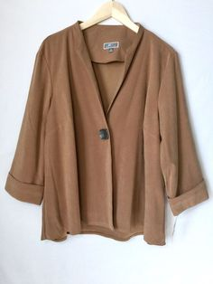 c9228a5bf6 Jm Collection Women s Suede Jacket Size X-Large