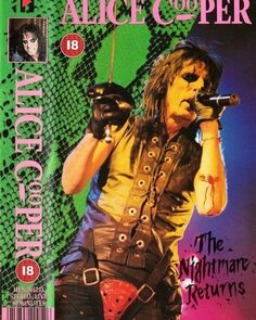 Years Ago…October 31st 1986 Alice Cooper plays at Joe Louis Arena, Detroit, MI, USA Tour: The Nightmare Returns Tour Setlist Intro Welcome to My Nightmare Billion Dollar Babies No More Mr. Nice Guy Be My Lover I'm Eighteen The World Needs Guts Give...
