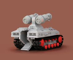 Awesome LEGO tank.