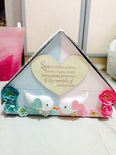 Wedding angbao box diy