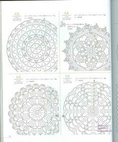 Lacework four seasons 100 Crochet Motif 10-20 cm - Tayrin 3 - Picasa Web Albums
