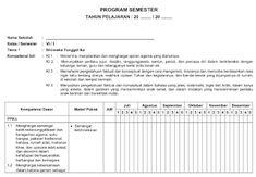 Prota, Promes, KKM dan Silabus Kelas 6 SD/MI Kurikulum 2013 Sd, Periodic Table, Words, Periodic Table Chart, Periotic Table, Horse