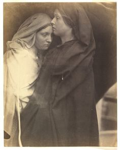 The Salutation - Julia Margaret Cameron - c. 1864