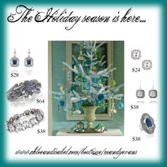 """""""Chloe and Isabel Holiday Sparkles!"""" by msevs-1 on Polyvore"""