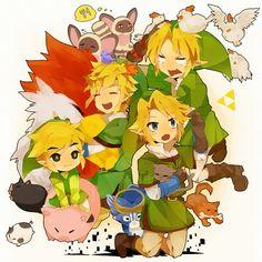 Tags: Anime, The Legend of Zelda, Pixiv, Link, Toon Link