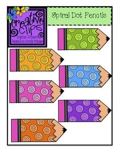 Clip Art Pictures, {FREE} This clipart bundle is perfect for decorating in your room, using as labels on your bins, center activities and more! There are 6 versions of these polka dot pencils! Classroom Labels, Classroom Themes, Classroom Activities, Classroom Clipart, School Clipart, Creative Clips, Pencil Clipart, Clip Art, Teacher Tools