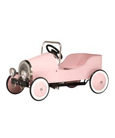 """6.I found the color of this model car interesting since it is a bright pink car, thus implying it is for a young girl. Lucy Waterlow on Mailonline states """"now they are much more likely to be gender stereotyped - blue for boys and pink for girls."""" Throughout the article she concurs how society should break the stereotpye."""