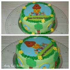 Hey Duggee Themed Cake Birthday Cakes, Birthday Ideas, Birthday Parties, Diy Party, Party Favors, Happy 2nd Birthday, Novelty Cakes, Third Party, Themed Cakes