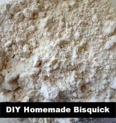 #DIY Homemade Bisquick #Recipe