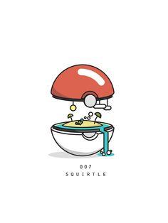 Pokemon Biome, Squirtle, by rocketbloc O Pokemon, Pokemon Memes, Pokemon Fan Art, Pikachu, Original Pokemon, Geek Games, Anime Comics, Cute Wallpapers, Game Art