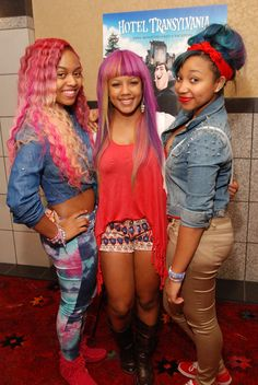 A Colorful OMG Girlz Spotted Hosting Atlanta Screening
