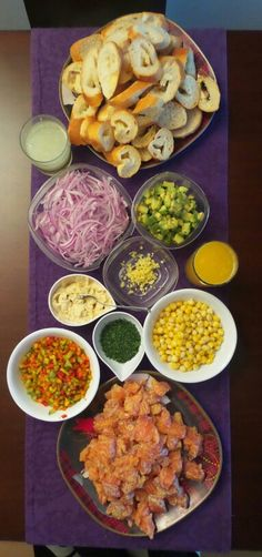 Ingredientes ceviche salmon