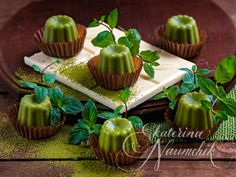 мятный шоколад с зеленым чаем