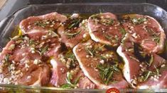 PrintThis recipe works great for lamb or chicken but my daughter just loves pork chops so this is one of her favorite dishes. I like to buy a large package of thick boneless pork chops at Costco. Barbecue Recipes, Pork Recipes, Salad Recipes, Cooking Recipes, Chicken Recipes, Pork Marinade, Marinated Pork, Grilled Pork Chops, I Love Food