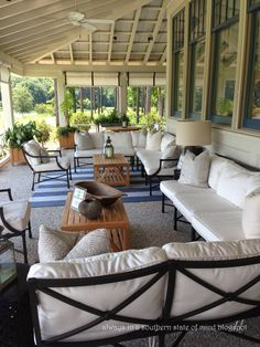 always in a southern state of mind: let's look outside at the Southern Living House in Palmetto Bluff
