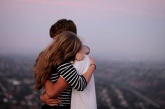 The best feeling in the world is to be held tightly by someone that loves you.