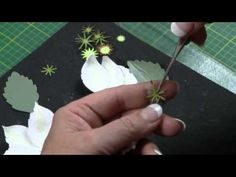 Making Paper Flowers -- Clematis - YouTube