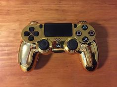 Sony Dualshock PS4 Controller Custom Chrome Colors Gold,Blue,Red,Green,Purple