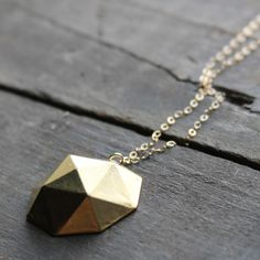 >another geometrical shape's necklace