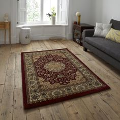 For High Quality Rugs At Great Prices The Heritage Traditional Rug Red A Price And Get Free Fast Delivery
