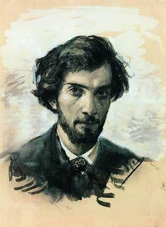 Isaac Levitan Self portrait, 1880