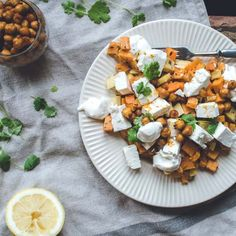 #delicious Chickpea & Vegetable Salad #foodie