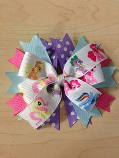 My Little Pony hairbow on Etsy, $7.00