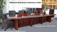 The Baltimore Boardroom Table side view. There is enough leg room Conference Table, Walnut Wood, Side View, Baltimore, Office Desk, Modern, Room, Furniture, Home Decor