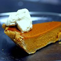 Silky Smooth Pumpkin Pie by Smitten Kitchen The yams and maple syrup ...