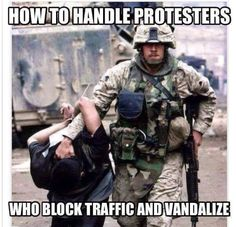 This is how these douchebag pukes should be handled!