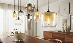 Hennepin Made Silver Pendants - All Lighting - Lighting - Room & Board