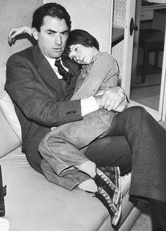 Atticus and Scout  Gregory Peck and Mary Badham behind the scenes of To Kill a Mockingbird (1962)