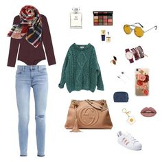 Aries girl by sfreitasv on Polyvore featuring polyvore, fashion, style, Essentiel, Levi's, adidas, Gucci, True Craft, Misis, Casetify, Spitfire, Forever 21, NYX, Chanel, Bobbi Brown Cosmetics, Christian Dior and clothing