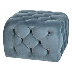 The Flynn Ottoman - Stormy Sea from Urban Barn is a unique home décor item. Urban Barn carries a variety of New Furniture and other products furnishings. Ottoman Furniture, Tufted Ottoman, Ottoman Bench, New Furniture, Living Room Furniture, Urban Barn, Living Room Sets, Home Living Room, Unique Home Decor