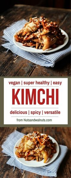 Kimchi! Corean fermented cabagge. Super healthy, full of fibres, vitamines, vitamins, antioxidants and other healthy stuff! Spicy, juicy, versatile, you gotta try it if you already didnt'!
