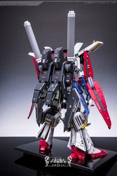 1/60 MSZ-010 ZZ Gundam - Painted Build     Modeled by Faint Panda