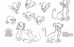 "Simba: arte conceitual / ""O Rei Leão"" 