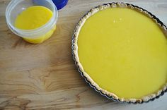 Meyer Lemon Tart with Lemon Pastry | Lemons and Lavender