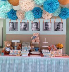 Teddy bear dessert buffet