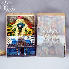 """Eva : #Tampons et #matrices de coupe #dies #4enSCRAP """"Fonds pointillés"""" #album #scrapbooking Mini Albums, Tampons Transparents, Bouquet, Scrapbooking, Pretty, Life, Cutaway, Travel, Bouquet Of Flowers"""