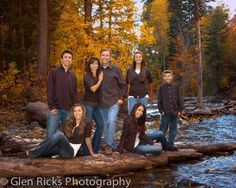 Family Portrait by Glen Ricks Photography