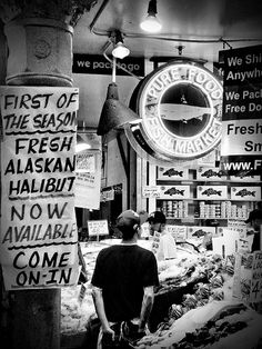 Pikes Fish Market, Seattle